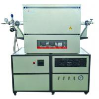 Quality High Purity Silica Tube Laboratory Tube Furnace With Adjustable Flange Support for sale