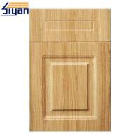 Buy cheap PVC Film Pressed MDF Cabinet For Vinyl Wrapped Kitchen Doors Reviews product