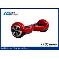Buy cheap Red Two Wheel Hoverboard Self Balancing Smart Scooter No Need To Learn from wholesalers