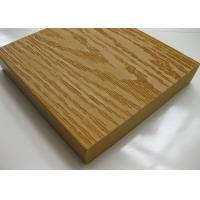 China Solid Wood Plastic Composite WPC Decking / Flooring Boards Anti - slip on sale