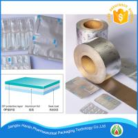 Buy cheap printed coated and high quality aluminum foil for tablets pills packaging from wholesalers