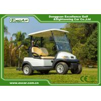 Buy cheap Powerful EXCAR 2 seater electric club car golf cart china mini golf buggy from wholesalers