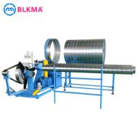 Buy cheap 623361048551/5 Round Duct Elbow Making Machine Spiral Concrete Tube Pipe Culvert Duct Forming Machine product