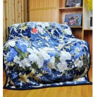 Buy cheap Blue Single Bed Blankets Warm And Comfortable For Home Or Hotel Use product