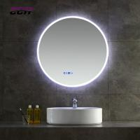 Buy cheap Bluetooth Wall Mounted Round Led Bathroom Mirror Anti fogging Slivered from wholesalers