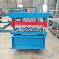 Buy cheap IT4 IBR Roofing Sheet Panels Roll Forming Machine 80CM/90CM with PLC control from wholesalers