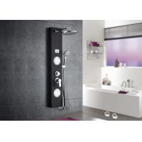 Buy cheap Black Tempered Glass Waterfall Shower Panel , ROVATE Massage Shower Panel product