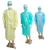 Buy cheap Sterile CPE Disposable Isolation Gowns , Thumb Loop Disposable Operating Gowns product