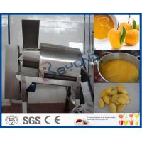 Buy cheap Stainless Steel Mango Processing Plant With Double Stage Pulper 5T Per Hour product