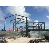 Buy cheap H beam Q235B Steel Building Steel Frame Fabrication For Gymnasium product