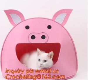 soft felt pet house, Pet Beds & Accessories, Felt pet house, Felt cats pet bed, felt pet house for dog or cats