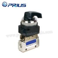 Buy cheap 3 Way 2 Position Pneumatic Valve MSV86321PB , Round Green Button Mechanical Air from wholesalers