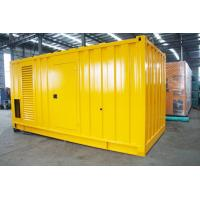 Buy cheap Soundproof Silent Diesel Generator Set 2500kva 400 / 230V AC Three Phase Output product
