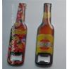 Buy cheap Epoxy bottle design metal bottle openers, epoxy dome beer bottle shape bottle opener, product