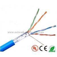Buy cheap CCA Lan Cable Telecommunication Network FTP Ethernet Cable 0.5mm PVC product