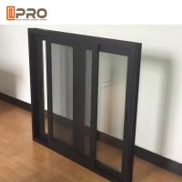 Buy cheap Commerical House and Office Tempered Double Glass Aluminium Sliding Window product