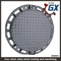 China BS EN124 Ductile Iron Cast Iron Manhole Covers Dimensions on sale