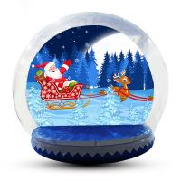 Buy cheap 5m Customized Inflatable Snow Globe For Party / Event / Promotion product