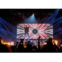Buy cheap 6.9 mm Night Club DJ LED Display Event P6 Indoor Large Led Screen product
