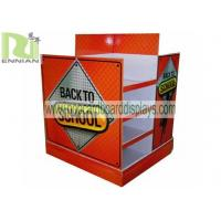 Buy cheap Advertising Supermarket Pallet cardboard pos display stands For clothes product