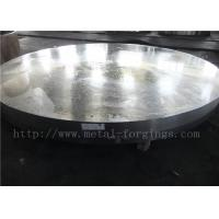 Buy cheap OD1935mm Carbon Steel ASTM A105 Forged Disc Normalized Heat Treatment product
