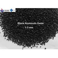China Anti Slip Construction Material Blast Media Aluminum Oxide Sand 50 Lb 0.4 - 1 Mm Size For Pavement on sale