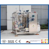 Buy cheap Uht Milk Products Milk Pasteurizer Machine / Htst Pasteurizer Milk Pasteurization Plant product
