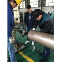 Buy cheap Beveling Operation Pipe Chamfering Machine 220 - 240V With Electric Drive product