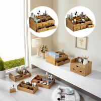 Quality bamboo makeup organizer for sale