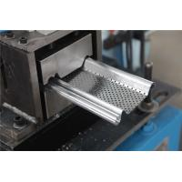 Buy cheap 0.5-1.2MM Shutter Roll Forming Machine with Continuity punch Punching 56mm Shaft product