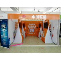 Buy cheap Formulate Stretch Hop Up Fabric Display Stand For Exhibition product