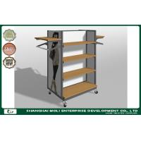 Buy cheap Customized Metal Retail Garment Racks display stand and clothes shop furniture product