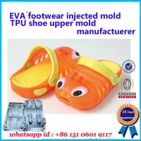 Buy cheap Air Blowing Slipper Mold 25 - 49 Size Multi Color  Flip Flop Mold product