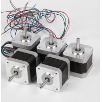 Buy cheap NEMA16 Stepping Motor, 1.8° step angle stepper motor, 2-Phase 39mm Stepper Motors product