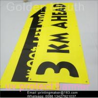 Buy cheap Uv Printing Outdoor Polyester Vinyl Advertising Banners For Business product