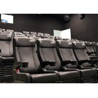 Buy cheap Attractive Cinema 4D Cinema System, 4D Theater with Pneumatic/Hydraulic/Electric Motion Chair product
