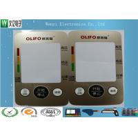 Buy cheap Custom Control Panel Overlay FPC Membrane Switch Touch Sense Panel Metallic Color product