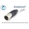 Buy cheap Aluminum Alloy Male XLR Audio Connector AX3MJ Zinc Diecast Shell Housing product