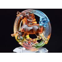 Buy cheap Personalized Award Cups Trophies , Colored Glaze Custom Award Trophies from wholesalers