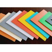 China High Density Rigid Durable Fluted Plastic Sheet With Customized Size And Color on sale