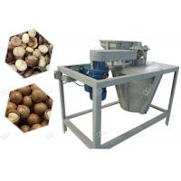 Buy cheap 250 kg/h Industrial Macadamia Nut Shelling Cracker Machine Automaticlly from wholesalers