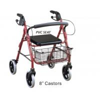 Buy cheap Durable Shopping Rollator , Adults  Drive Medical Aluminum Rollator product