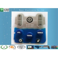 Buy cheap Planted Color Key 45 Degree Silicone Rubber Keypad product