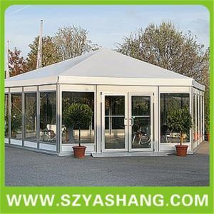 Buy cheap Hexagonal  tent,pagoda tents,huge tent,work tents,pvc tents product