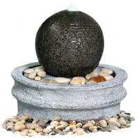 Buy cheap Marble Ball Outdoor Sphere Water Fountains Outdoor / Indoor Sphere Garden Fountain product