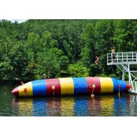 Buy cheap Red / Blue / Green Inflatable Water Pillow Water Floating Launch Toy product