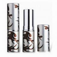 Buy cheap Lipstick Tube with Height of 75mm and 12.1/12.7mm Cup Size, Customized Colors are Accepted product