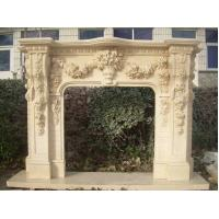 China 2014 popular white fireplace with grapes on sale