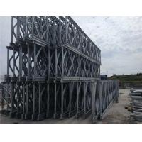 Buy cheap Bailey System Steel Truss Bridge Simple Structure Military Floating Bridge product