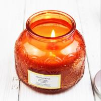China Carving Decorative Pattern Home Scented Candles Customized Fragrance on sale